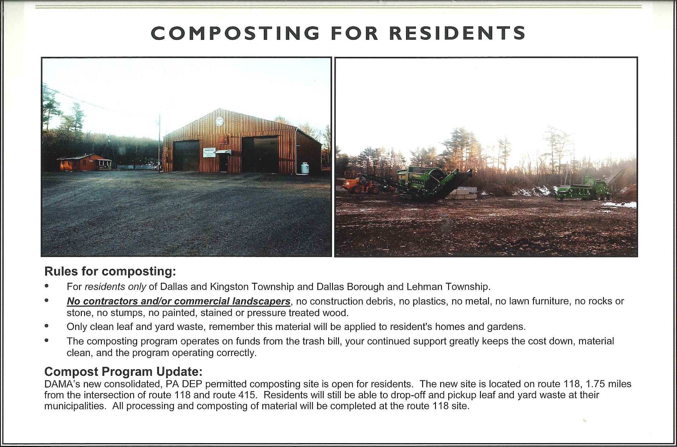 Composting For Residents